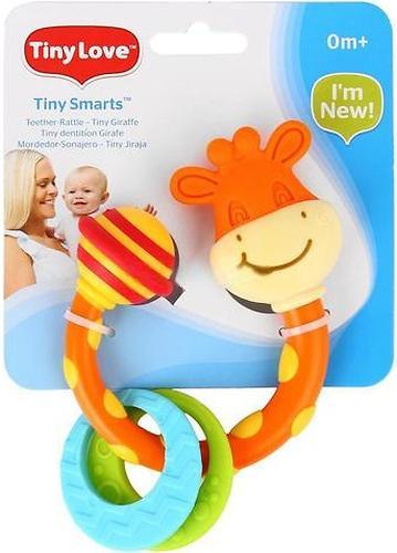 Tiny Love Погремушка-прорезыватель жираф Сеня (1)