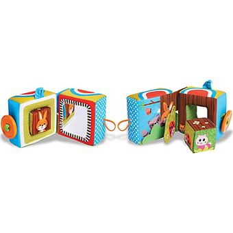 Текстурированная книжка Tiny Love Куб - Minim