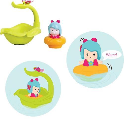 Игрушка Tiny Love МИМИ-листочек/фонтан, интерактивная игрушка для ванной (6)
