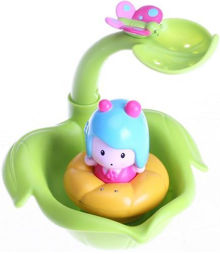 Игрушка Tiny Love МИМИ-листочек/фонтан, интерактивная игрушка для ванной (4)