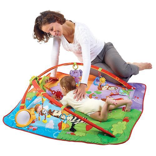 Развивающий коврик Tiny Love Разноцветное Сафари MAXI (10)