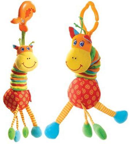 Tiny Love Развивающая игрушка Жираф с вибрацией (1)