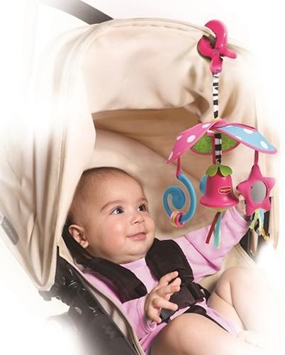 Веселая Карусель Tiny Love Моя Принцесса механический подвес на коляску - комплектация Travel (4)