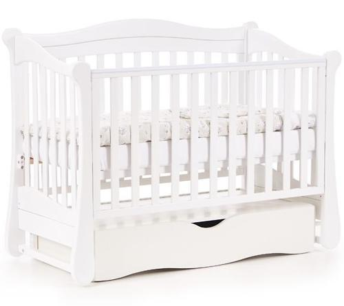 Кроватка Соня ЛД 18 18.06 Белая (9)