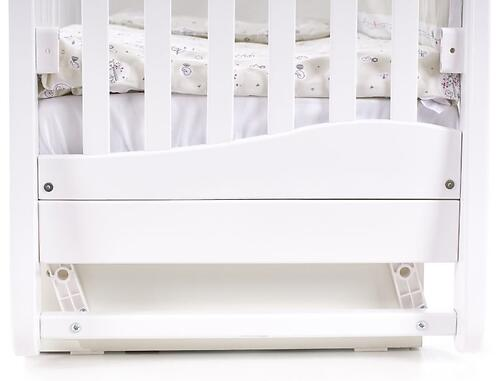 Кроватка Соня ЛД 18 18.06 Белая (15)