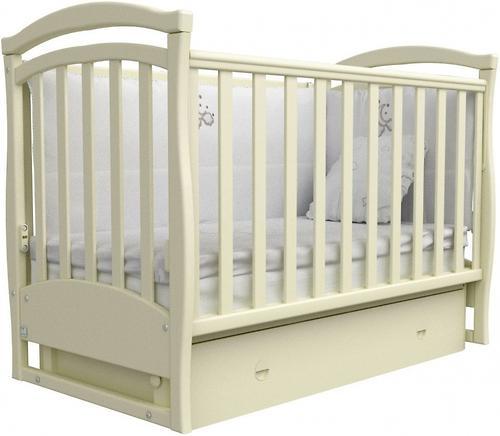 Уценка! Кроватка Верес Соня ЛД 6 06.04 Слоновая кость (1)