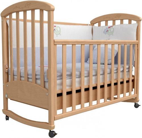 Кроватка Верес Соня ЛД 9 09.01 бук (1)