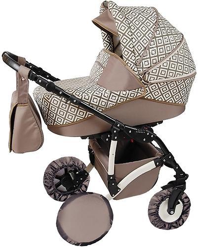 Чехол Витоша на колеса для детской коляски с поворотными колесами 10 и 12 дюймов 4 шт (3)