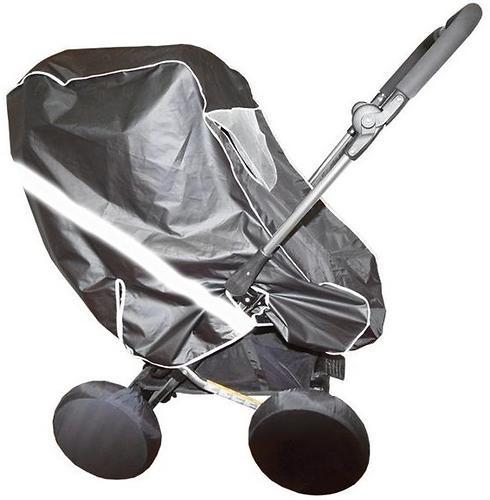Дождевик Витоша для коляски-трансформера со светоотражающей полосой Таффета (3)
