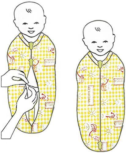Пеленка-конверт Витоша Newborn для новорожденных на молнии (6)