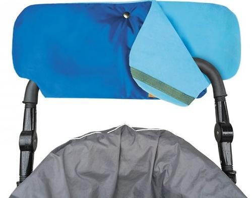 Муфта для рук на коляску однотонная (4)