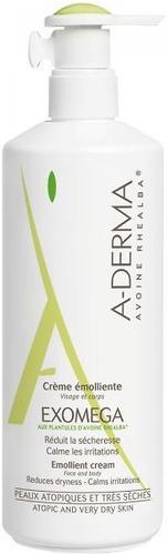 Крем смягчающий A-DERMA Exomega D.E.F.I. насыщенная текстура 400мл (1)