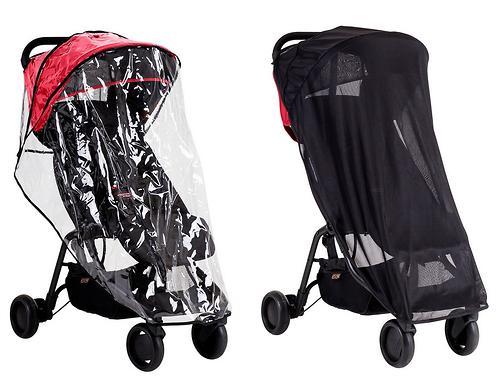 Kомплект москитная сетка и дождевик для коляски Mountain Buggy Nano (1)