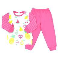 Пижама Crockid К 1512/сахар+тем-розовый