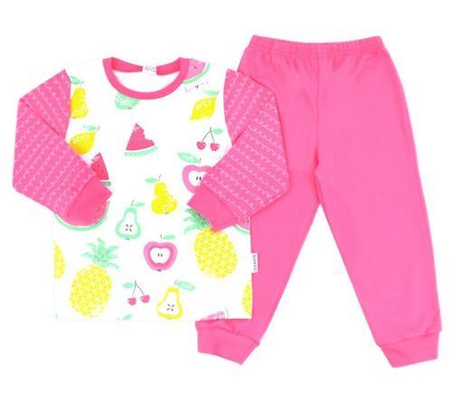 Пижама Crockid К 1512/сахар+тем-розовый (1)