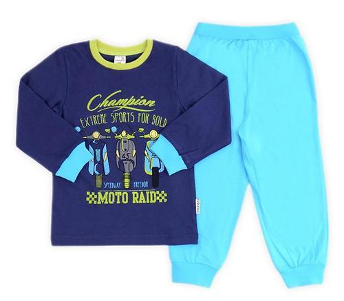 Пижама Crockid К 1512/ч.синий+голуб.озеро (1)