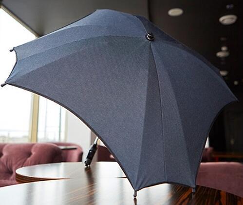 Зонт для коляски Anex серый (3)