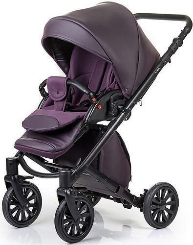 Коляска 2в1 Anex Cross Dark Plum (9)