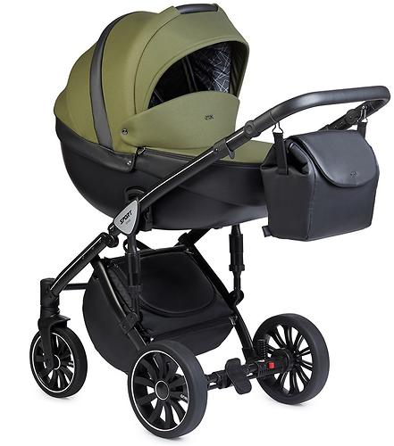 Коляска 2в1 Anex Sport British Green (8)