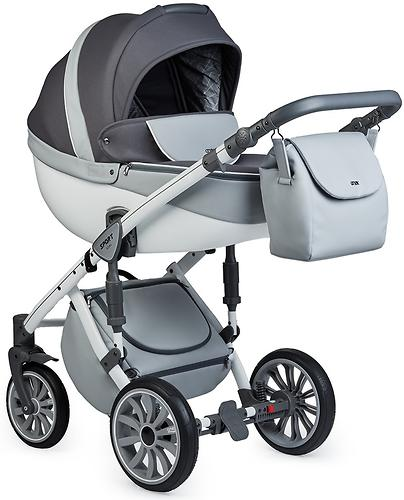 Коляска 2в1 Anex Sport Gray Cloud (8)