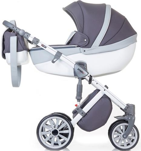 Коляска 2в1 Anex Sport Gray Cloud (9)