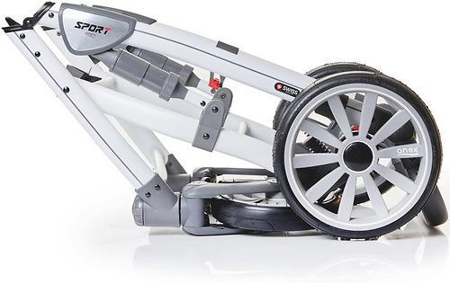Коляска 3в1 Anex Sport Gray Cloud (14)