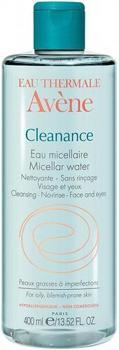 Мицеллярная вода Avene Cleanance 400мл (1)