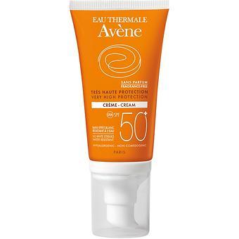 Крем солнцезащитный для сухой кожи Avene SPF 50+ 50 мл - Minim