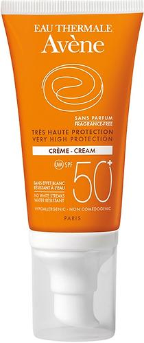 Крем солнцезащитный для сухой кожи Avene SPF 50+ 50 мл (1)