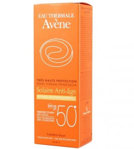 Антивозрастной солнцезащитный крем для лица Avene SPF50+ 50 мл (4)