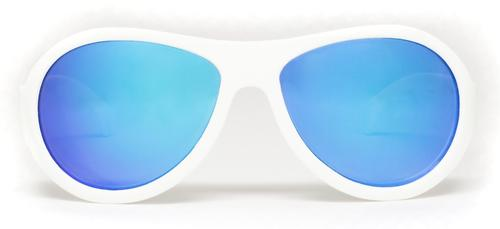 Солнцезащитные очки Babiators Aces Aviator - Wicked white (Белый - синие линзы) 6+ (9)