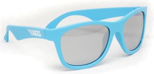 Солнцезащитные очки Babiators Aces Navigators - Electric Blue (Голубой - серебряные линзы) 6+ (9)