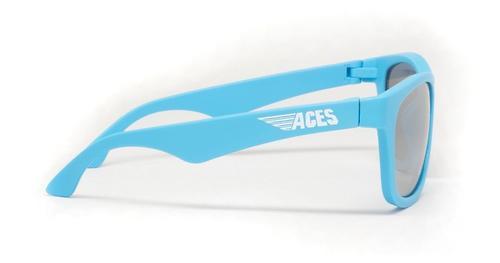 Солнцезащитные очки Babiators Aces Navigators - Electric Blue (Голубой - серебряные линзы) 6+ (11)