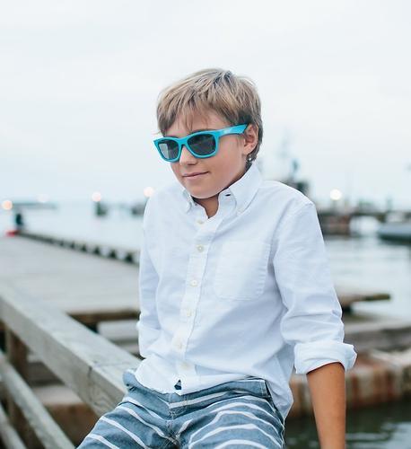 Солнцезащитные очки Babiators Aces Navigators - Electric Blue (Голубой - серебряные линзы) 6+ (14)
