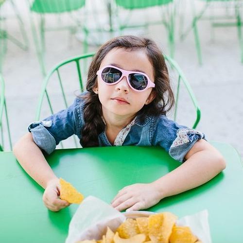 Солнцезащитные очки Babiators Original Aviator Junior - Princess Pink 0-2 лет (10)