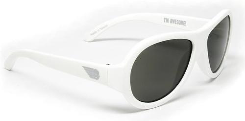 Солнцезащитные очки Babiators Original Aviator Junior - Wicked white 0-2 лет (8)