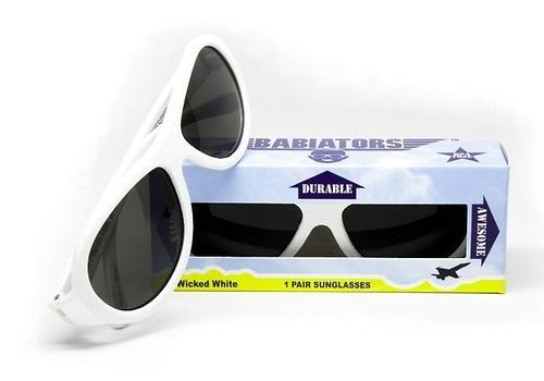 Солнцезащитные очки Babiators Original Aviator Junior - Wicked white 0-2 лет (11)