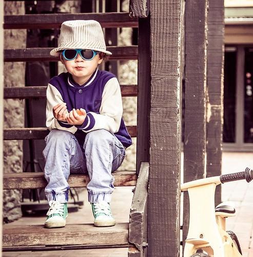 Солнцезащитные очки Babiators Original Aviator Junior - Blue Beach 0-2 лет (12)