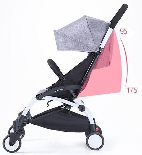 Коляска Baby Time Black (6)
