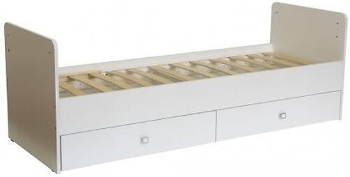 Кровать-трансформер детская Bambini M 01.10.01 Слоновая кость фасад МДФ (6)