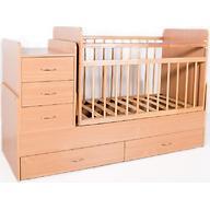 Кровать-трансформер детская Bambini M 01.10.01 Натуральный ЛДСП