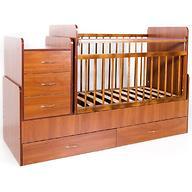 Кровать-трансформер детская Bambini M 01 10 01 Светлый орех фасад МДФ