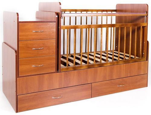 Кровать-трансформер детская Bambini M 01 10 01 Светлый орех (4)