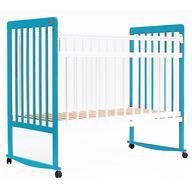 Кровать детская Bambini Евро стиль М 01.10.03 Бело-Голубой