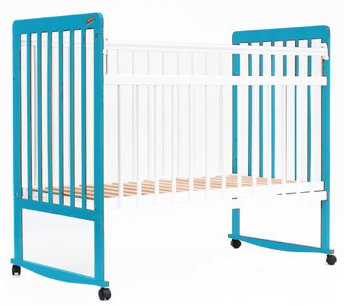 Кровать детская Bambini Евро стиль М 01.10.03 Бело-Голубой (4)