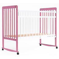 Кровать детская Bambini Евро стиль М 01.10.03 Бело-Розовый