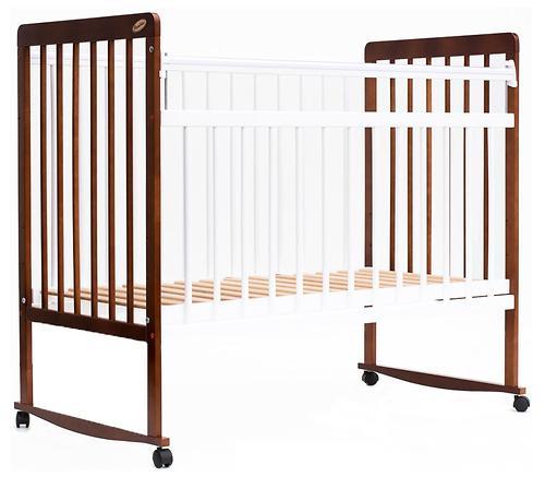 Кровать детская Bambini Евро стиль М 01.10.03 Светлый орех+Белый (4)