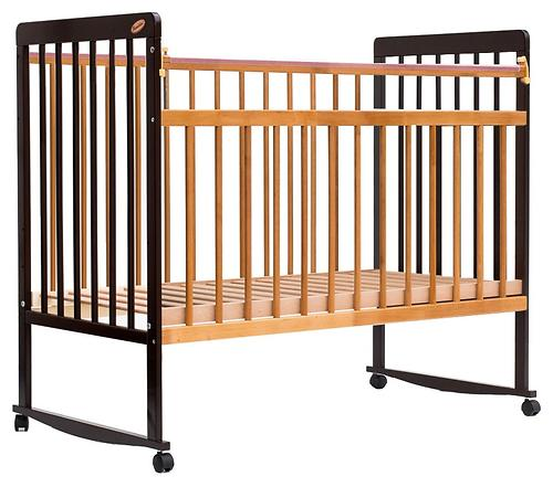 Кровать детская Bambini Евро стиль М 01.10.03 Темный орех+Натуральный (4)