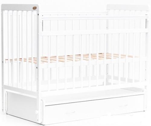 Кровать детская Bambini Евро стиль M 01.10.04 Белый (4)