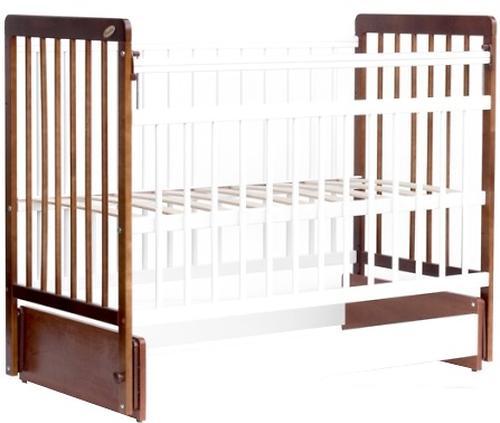 Кровать детская Bambini Евро стиль М 01.10.04 Светлый орех+Белый (4)